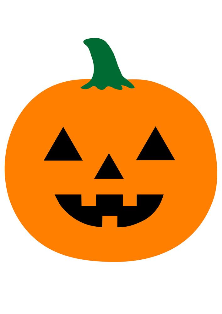 pumpkin face emoji mask