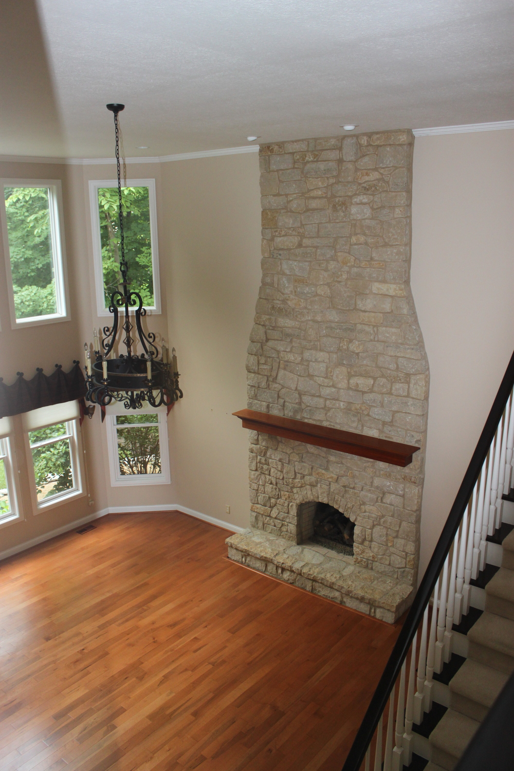 PJI FIREPLACE PROJECT AND FAMILY ROOM REMODEL AFTER