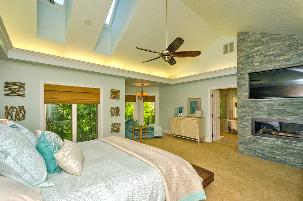 PATTI JOHNSON INTERIORS CINCINNATI INTERIOR DESIGNER MASTER BEDROOM