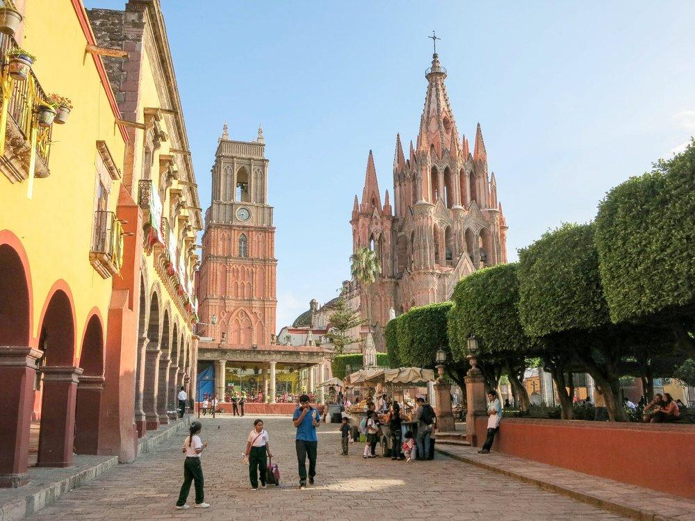 Expat resources mexico insurance advisors for Jardin san miguel de allende