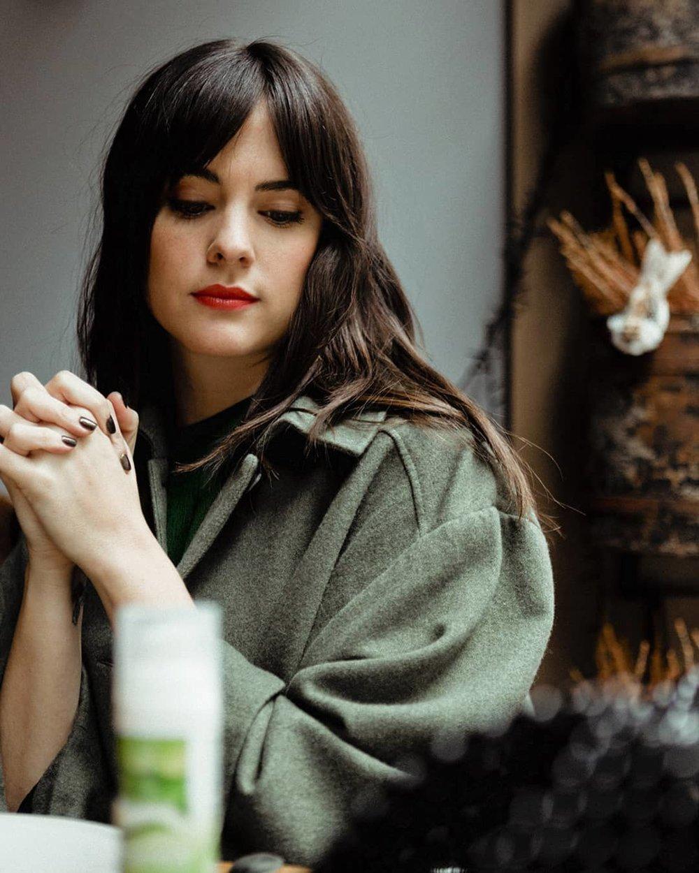 Cristina Abad, para Vogue España