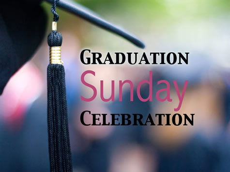 Image result for graduation sunday celebration