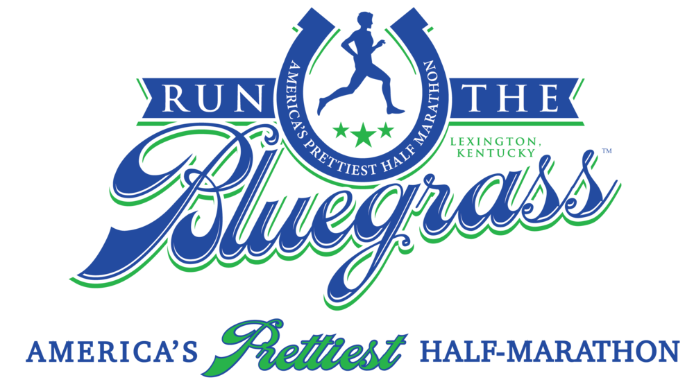 RunTheBluegrass Traditional Logo in Blue, Green and White with tagline below-01.png