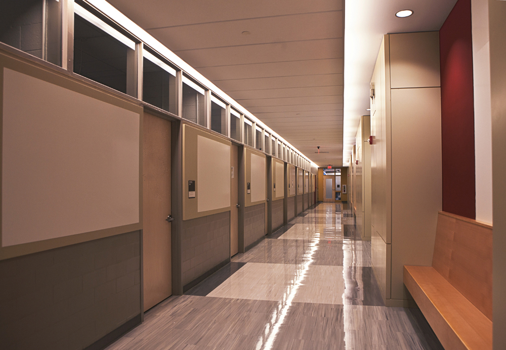 New Corridor After Renovations