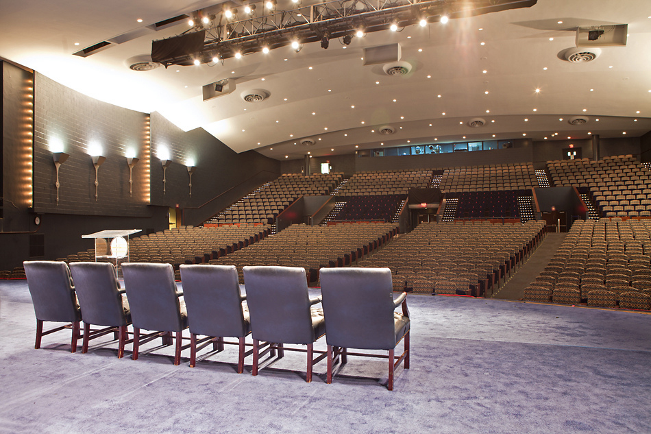 Auditorium View From Stage