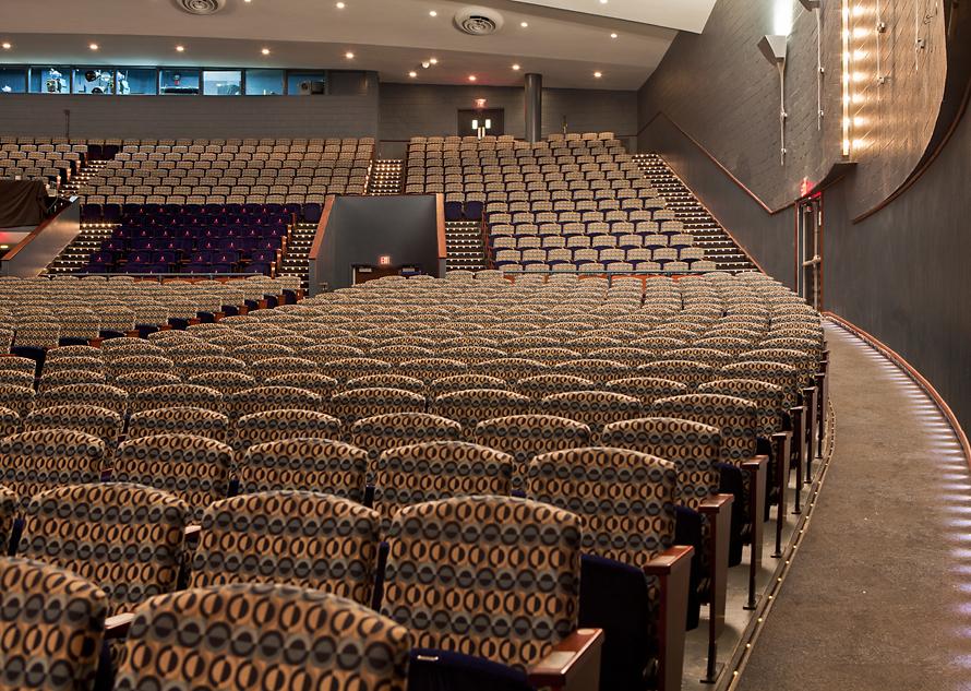 Howard University Cramton Auditorium Olaya Studio