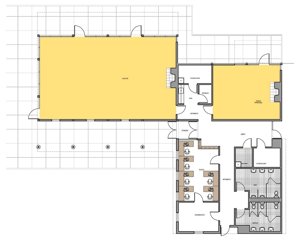 Activity Center Floor Plan