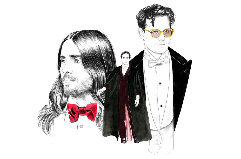 H&M LIFE:  JARED LETO, ZAC POSEN, JOHNNY DEPP, 2014