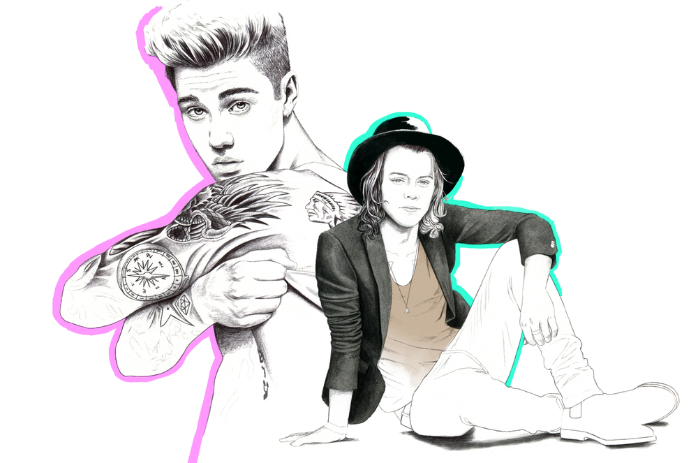 H&M LIFE:  JUSTIN BIEBER & HARRY STYLES, 2015
