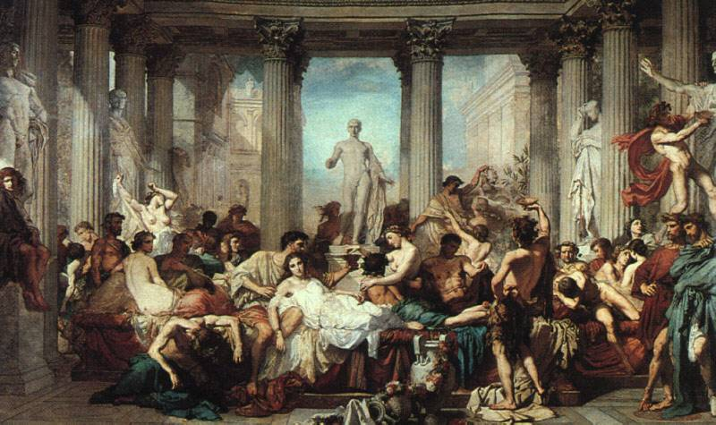 Thomas Couture, The Romans of the Decadence