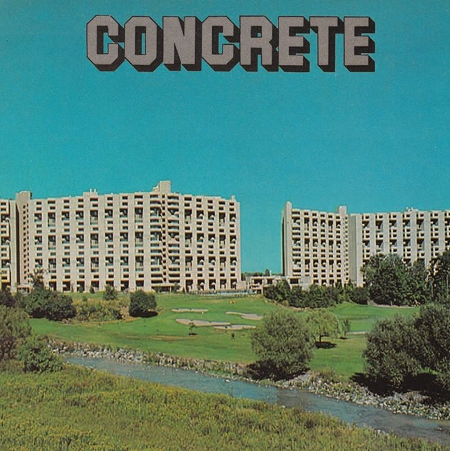 Concrete A material used to construct tanks for fermentation or élevage. Provides good stable temperature control without the need for heating or cooling. Usually tiled-lined.