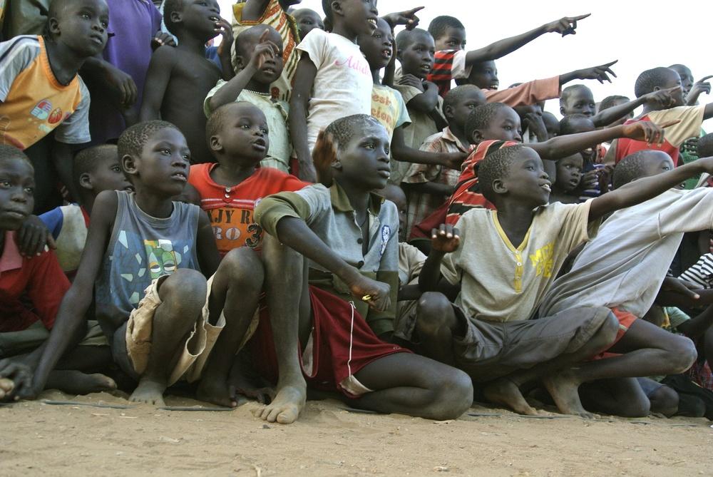 Children Point and Watch Film.JPG