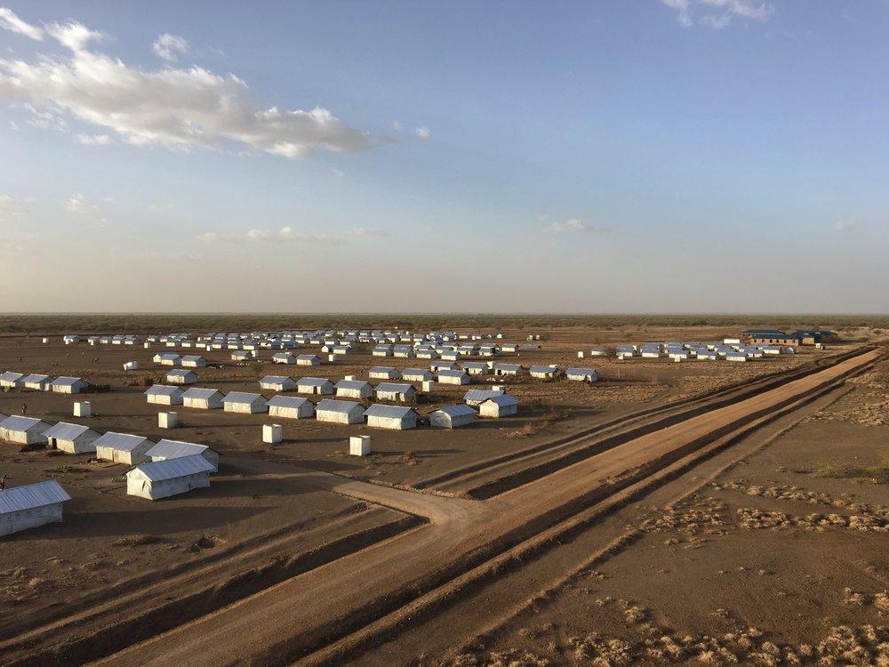 Kalobeyei Refugee Settlement, Turkana County ©FilmAid/Salum