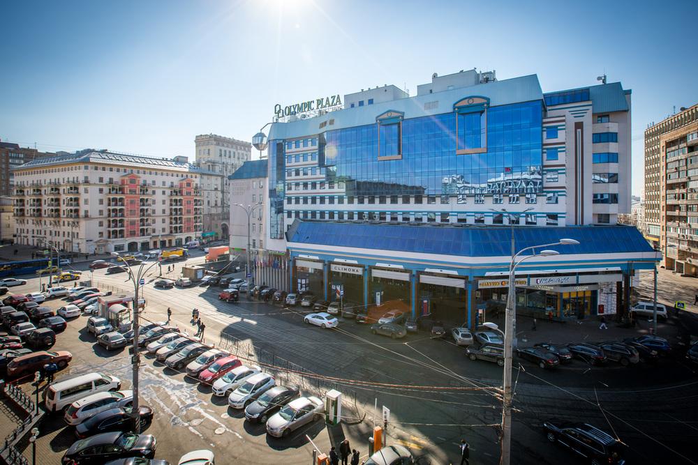 Торгово-офисный центр<br>Олимпик Плаза<br><h11>м. Проспект Мира