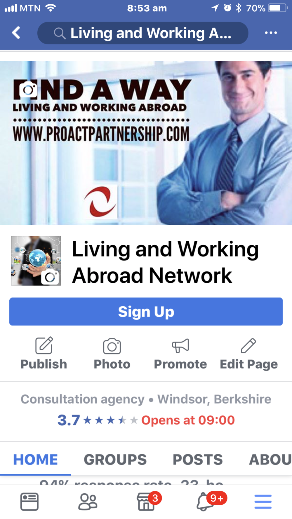 https://www.facebook.com/LivingAndWorkingAbroad/