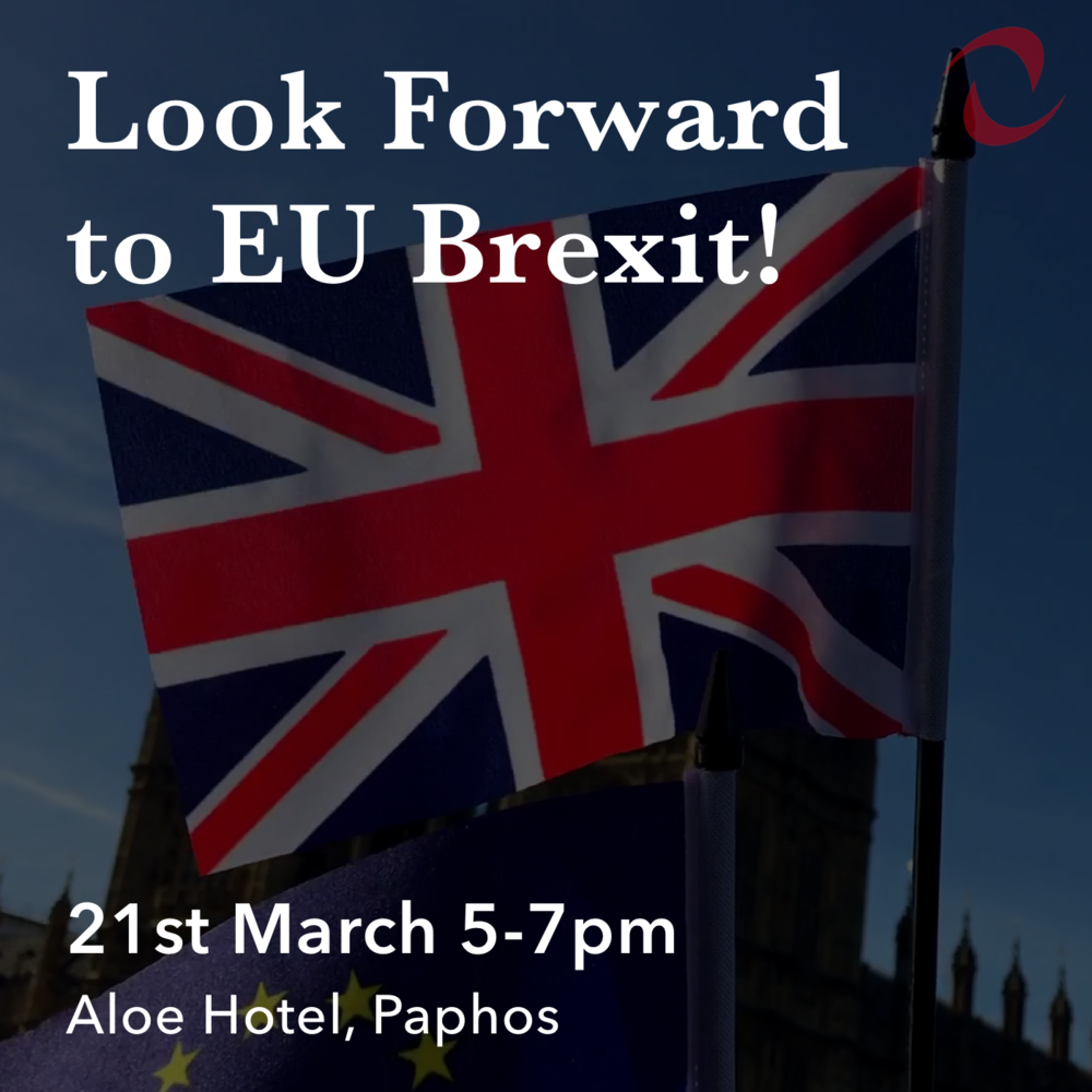 Event. - Join us in Paphos as we look forward to Brexit & what it means for expats.