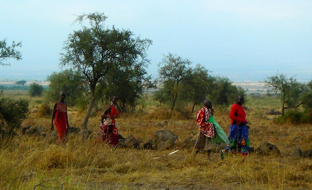 Maasai women in Kenya