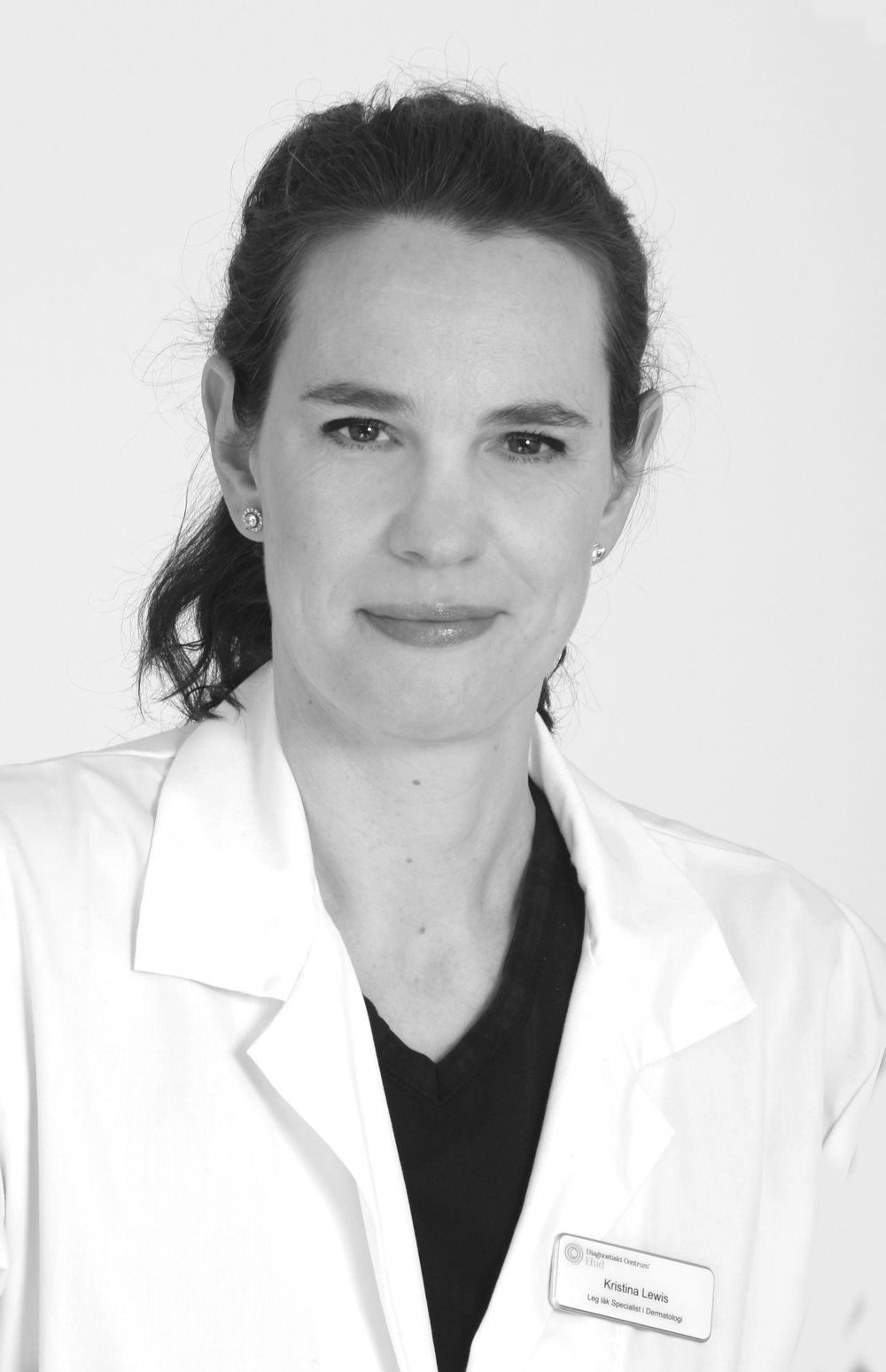 Kristina Lewis (tjänstledig) Hudläkare - Specialist i Dermatologi