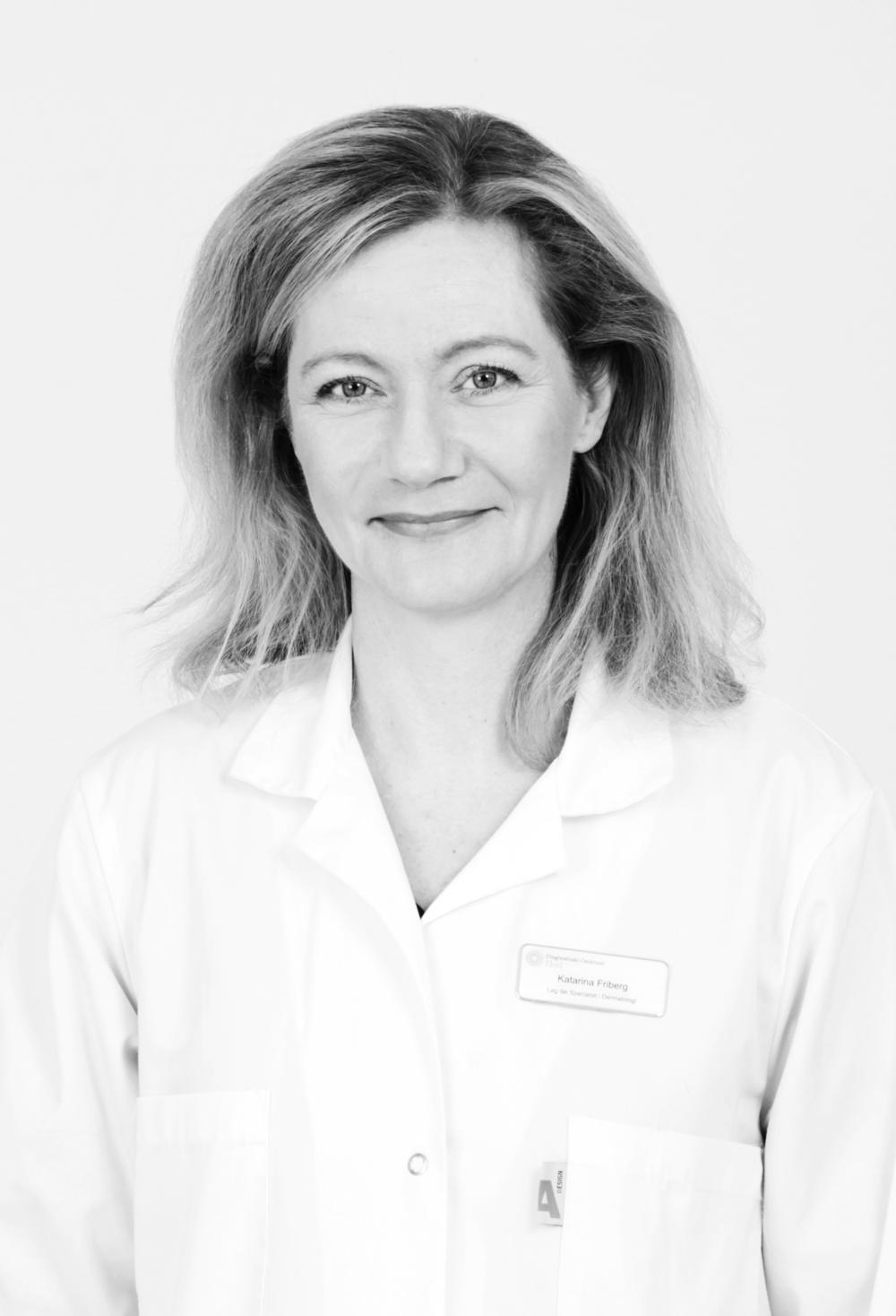 Katarina Friberg Hudläkare - Specialist i Dermatologi