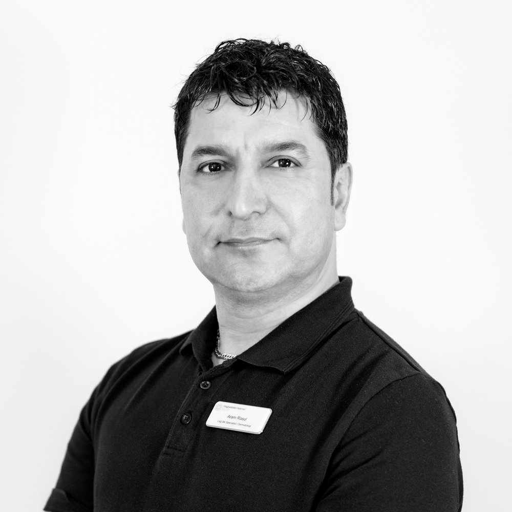 Aram Rasul Hudläkare - Specialist i Dermatologi