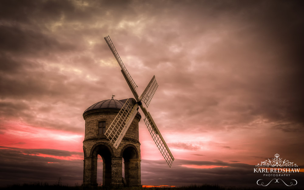 Sunset Over Chesterton Mill