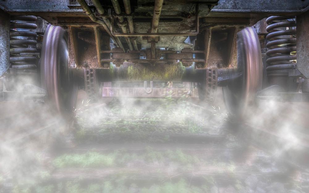 Under A Train