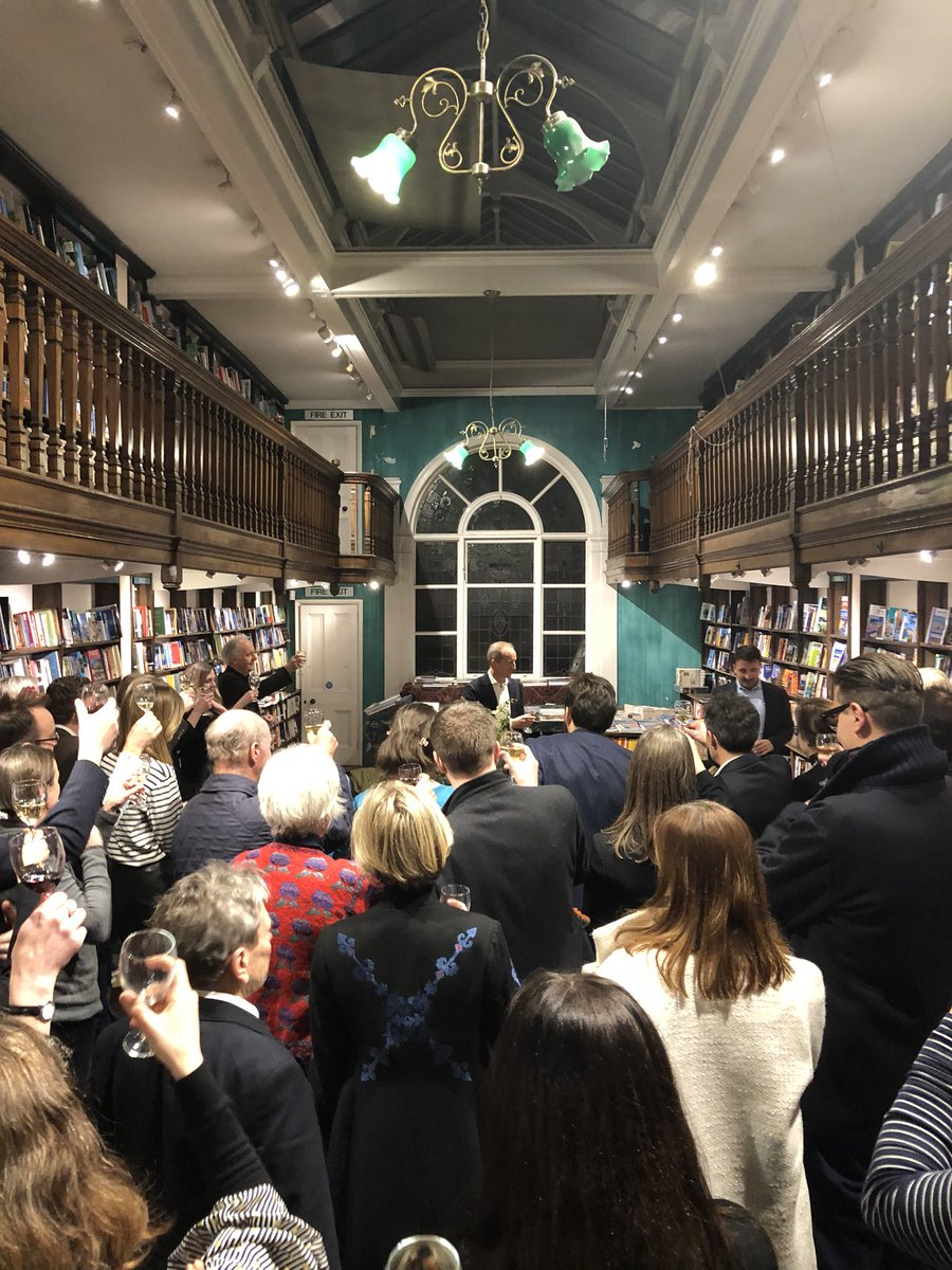 Launch of TRUTH at Daunt Books