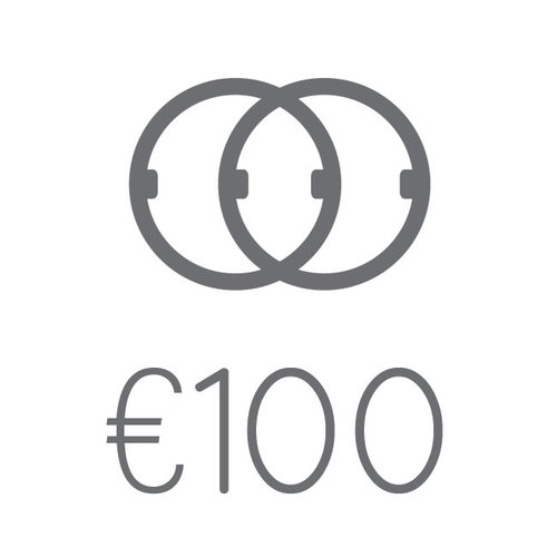 100 Euro Gift Card Clasped