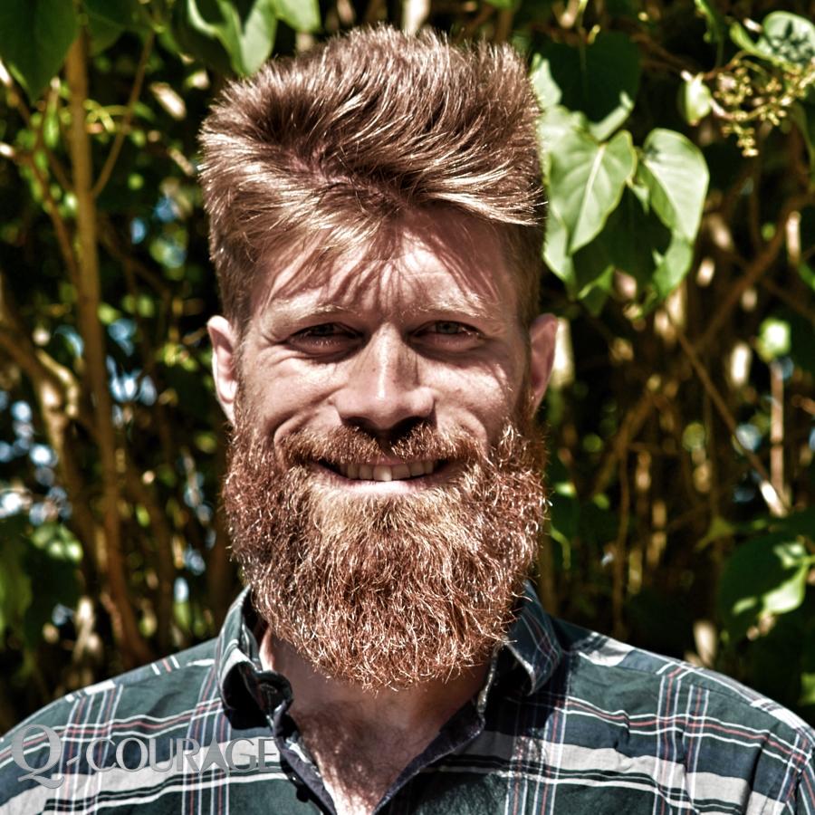 Kristian K.Grøndahl. Højskolelærer,uddannet fysioterapeut og tidl. jægersoldat