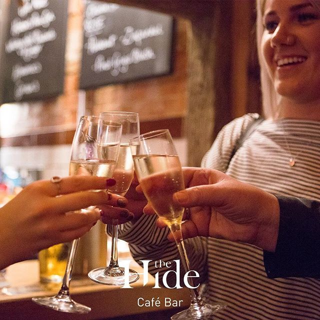 Hidey Friday Ladies, and of course you Gents. It's time to kick off the weekend with those besties that you have not seen for a whole week. Come enjoy bubbles and check out our lovely new bar. #hidebesties #thehideampthill  #ampthill #hideyfriday