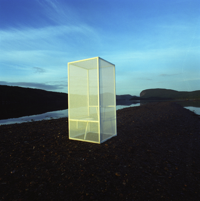 Semi-transparent Thinking Box , Newfoundland, 1999