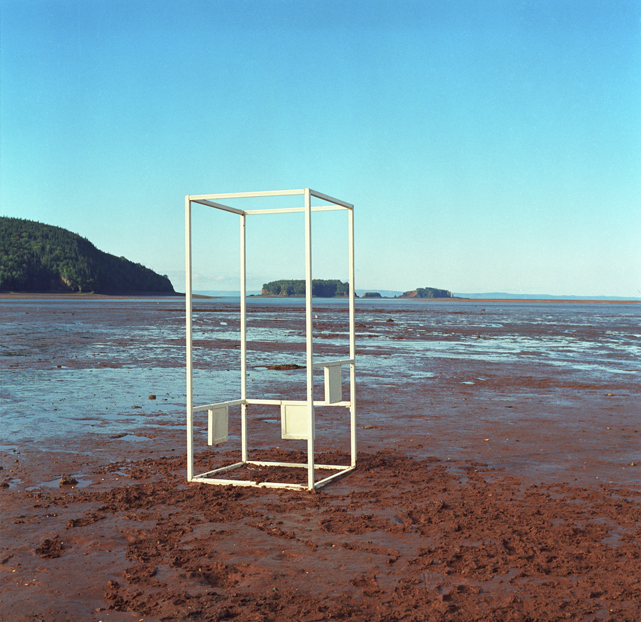 Transparent Thinking Box , Newfoundland, 1999