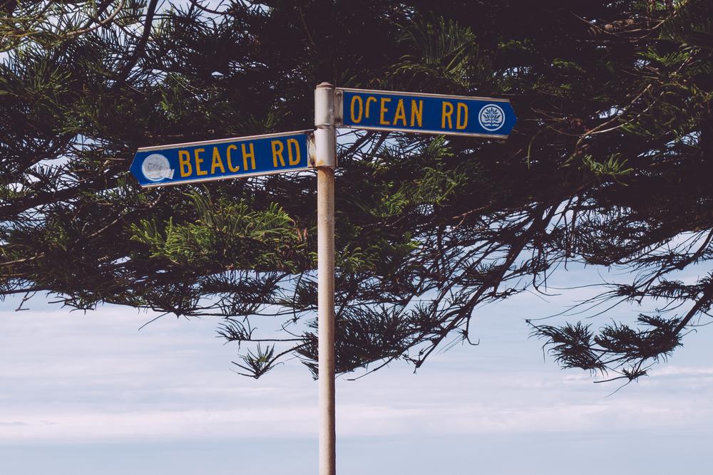 beach road ocean road