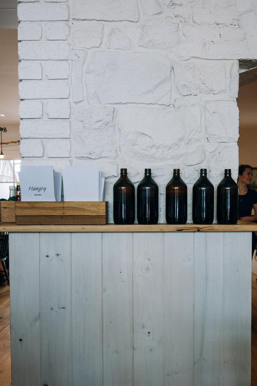 archies interior water bottle menu