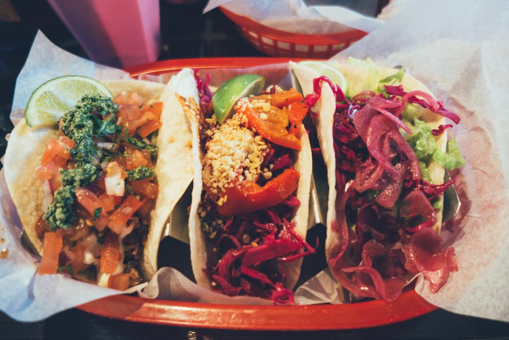 beach burrito tacos