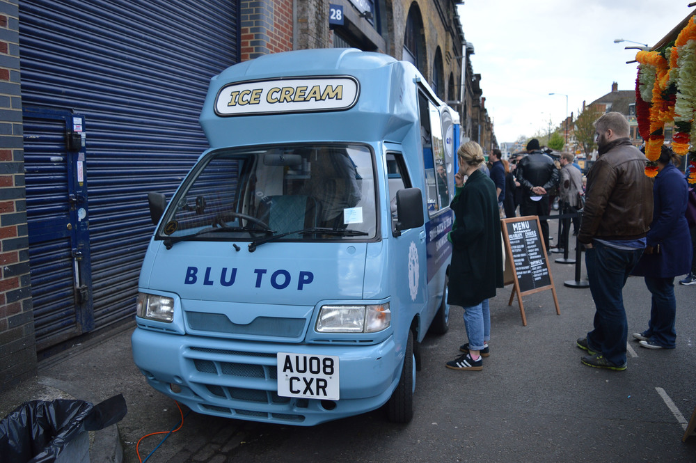 Blu Top Ice Cream Voyage Collective Fi McCrindle