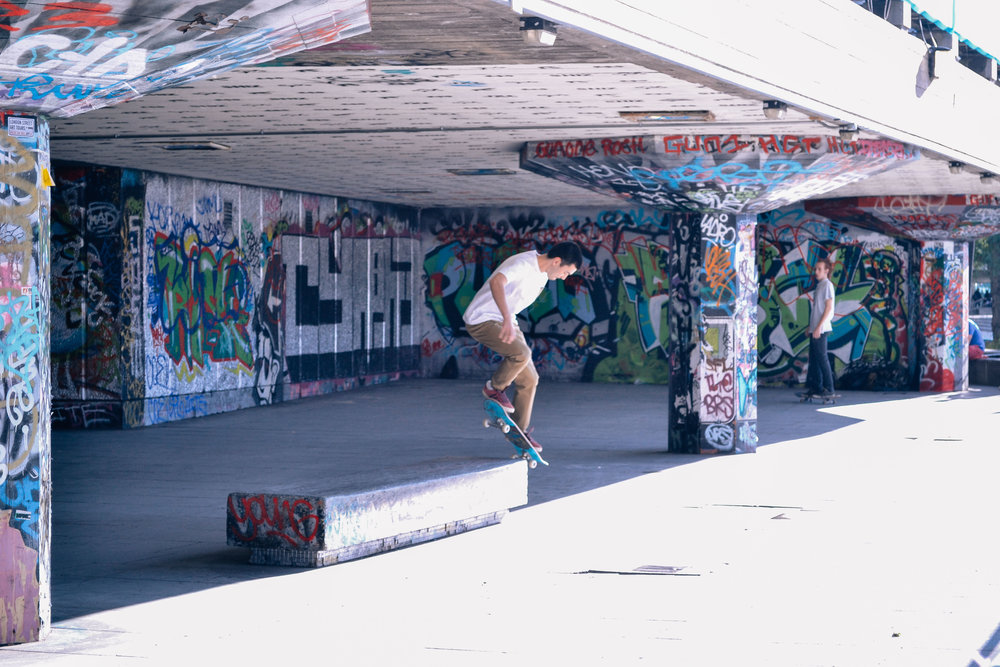 Southbank Skatepark London Voyage Collective Billie Norman