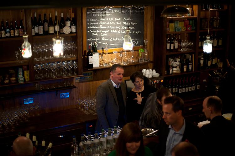 Proper wine bar in the West End, Edinburgh