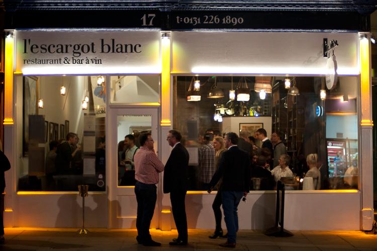 Wine bar in the West End, Edinburgh