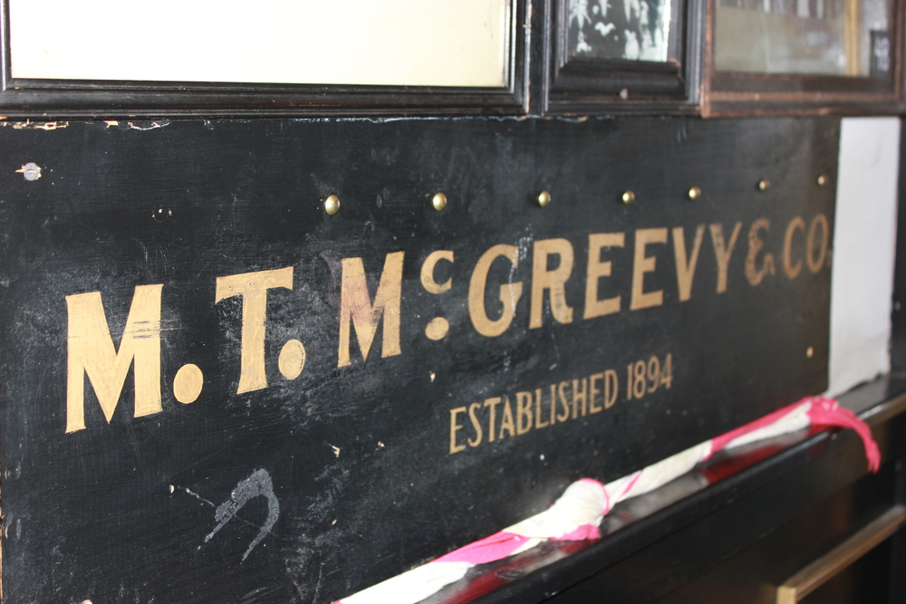 The original McGreevy's opened in 1894, but closed its doors during Prohibition.