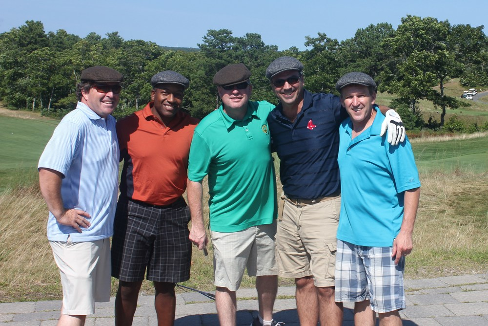 Chris Collins of NECN and friends