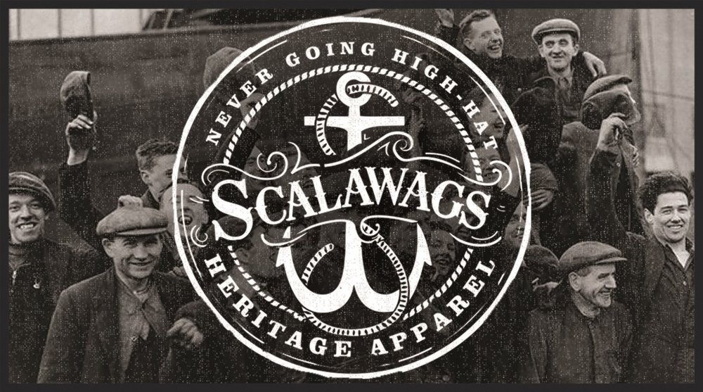 Scalawag:  A common laborer toiling away on the docks.  Often identified as a newly arriving immigrant.  A scalawag may also refer to a rascal or scamp. Scally Cap:  Scalawags were often identified by their short billed hats.  Hence their trademark hats became widely recognized as scally caps. High-Hat:  Refers to an individual who is trying to put on airs, selling out, big timing, or attempting to rise above his/her station