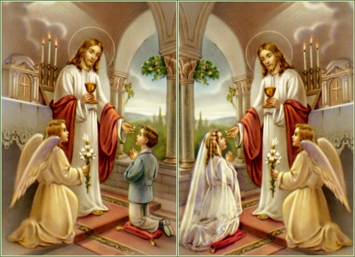Image result for first eucharist