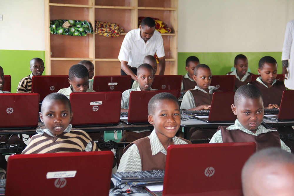 Photo of a classroom in Hope Haven School - Kigali, Rwanda, Africa