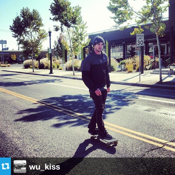 #Repost from @wu_kiss The other day our good friend @tijuana_hughes skated 45 miles for a skate charity in Ecuador. He has another event on Monday the 21st at #crookedfence brewery half of all proceeds go to TJ and the kids at Skate Church in Quito, Ecuador. #thighburn
