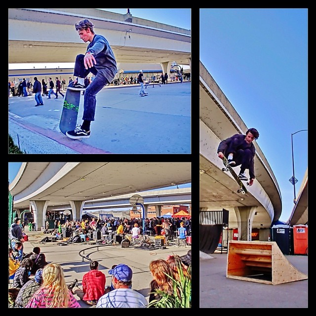 We hope everyone enjoyed #treefort and #skatefort in #boise as much as we did. @scotpmbl snapped some photos of sean ahern enjoying the event. Thanks to @newtandharolds @prestigeboise and the boise #skateboard association for masterminding