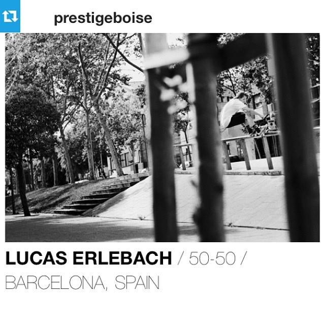 @wu_kiss has a photo on the @theskateboardmag website in Fresh Crops: Roger Ferrero. @rogerferrero regram from the boys @prestigeboise #skateboarding #barcelona #spain #unhlyfolk