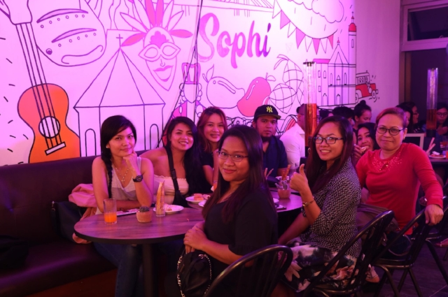 In the photo: (L-R) Michelle, Rachael, Keesha, Atty. Anna-Marie, Efren, Josie, Grace.