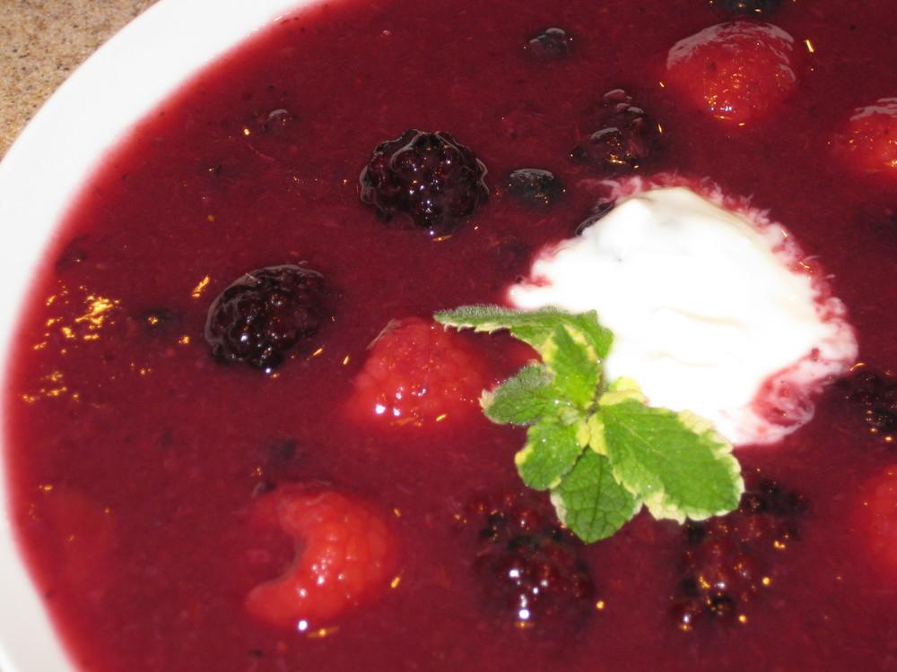 Delectable Fruit Soup