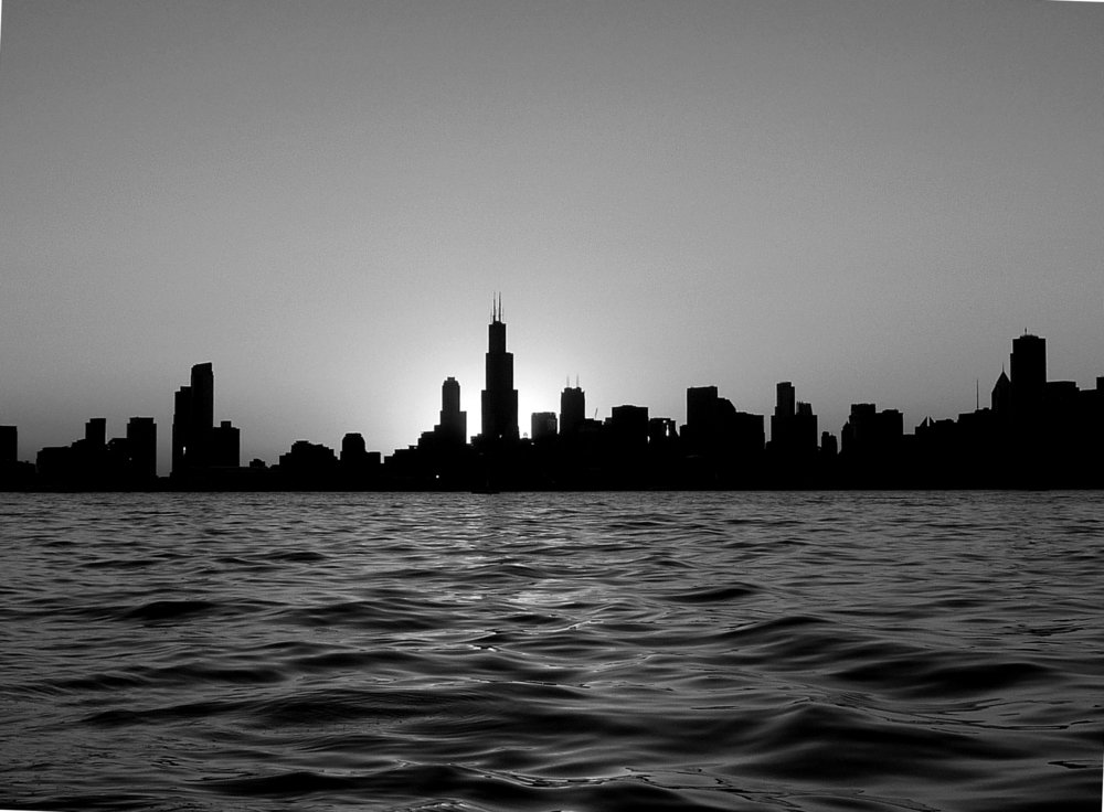 Chicago Skyline - Copyright 2017